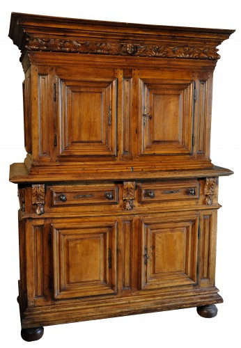 A French Henri II dresser in  walnut