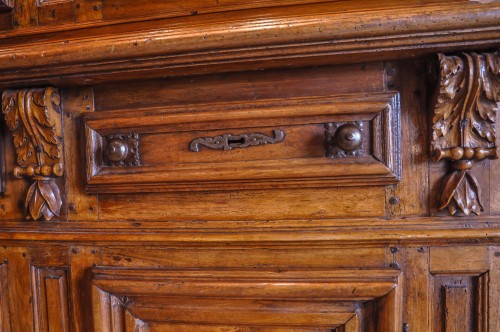 16th century - A French Henri II dresser in  walnut