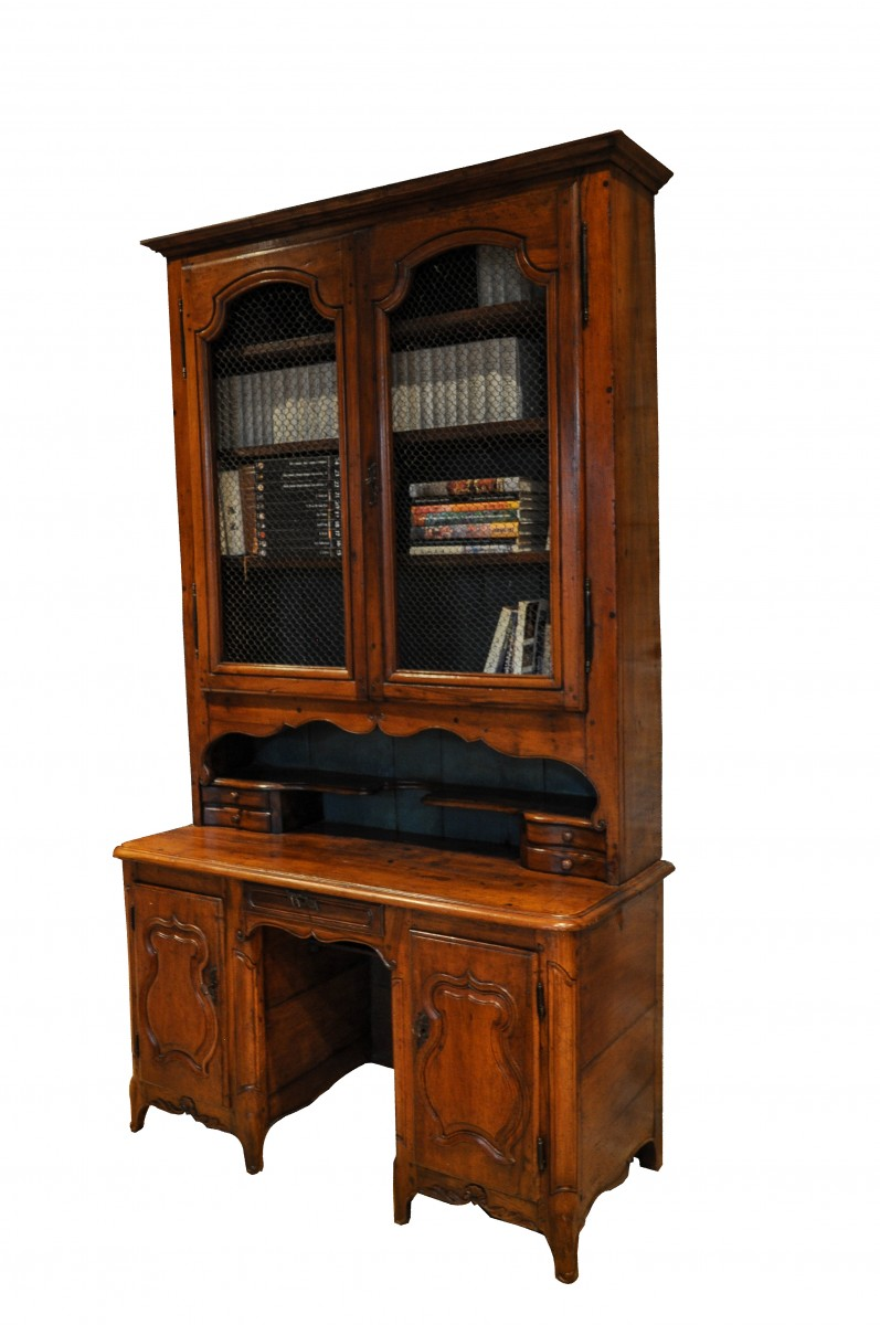 French Regence Period 1715 1723 Desk Bookcase