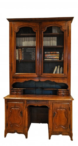 French Regence period (1715-1723) Desk bookcase - Furniture Style