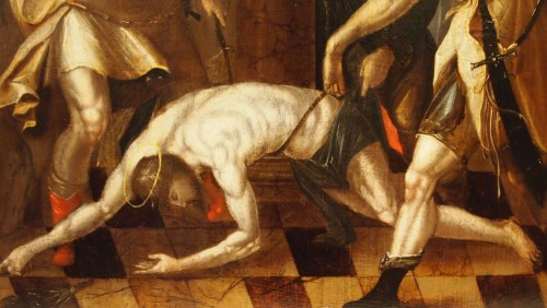 Flagellation of Christ, late 16th early17th century  - Paintings & Drawings Style