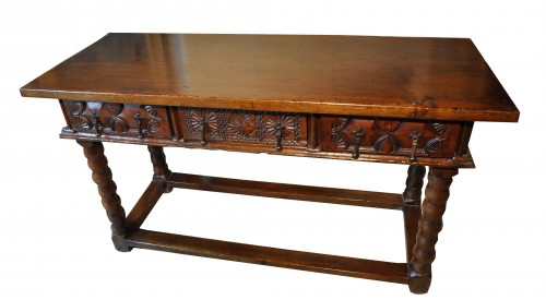 Console table, 17th century  - Furniture Style
