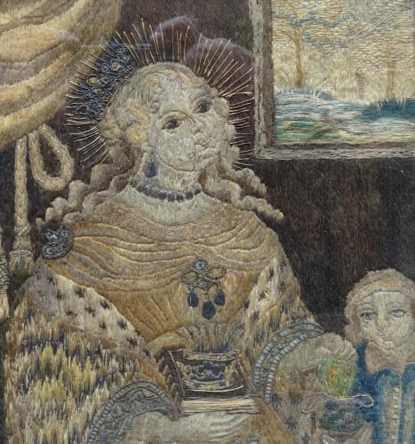 Saintes embroider 16 th century  -