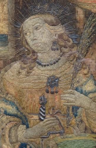 16th century - Saintes embroider 16 th century