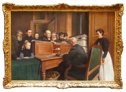 Le Bureau des Bienfaisance - Ferdinand GUELDRY (1858-1945)