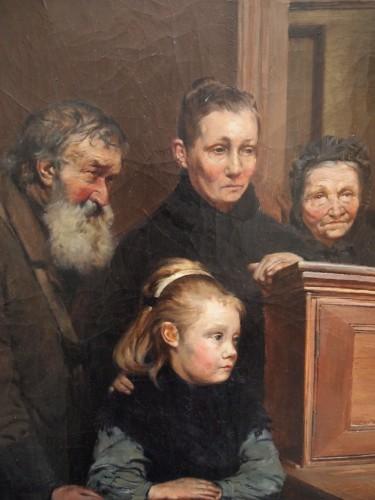 Paintings & Drawings  - Le Bureau des Bienfaisance - Ferdinand GUELDRY (1858-1945)