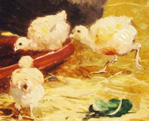 Farmyard - Joseph FAVEROT (1862-?) -