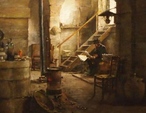 The Reading - Antoine Jean BAIL (1830-1918) - Paintings & Drawings Style
