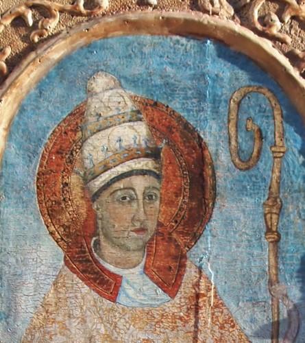 Saint Grégoire near 1500 - Religious Antiques Style