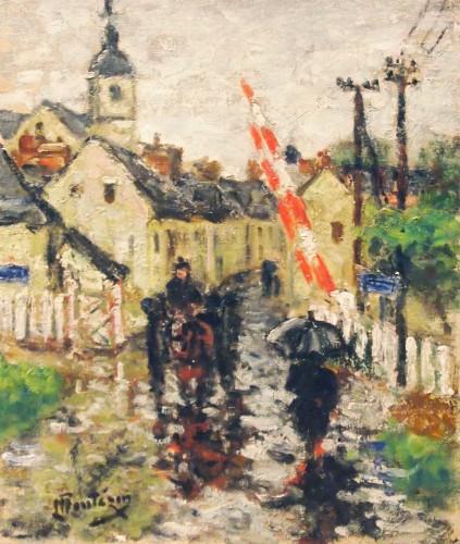 Raining day by Eugene MONTEZIN