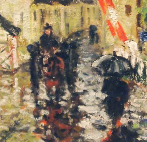 Paintings & Drawings  - Raining day by Eugene MONTEZIN