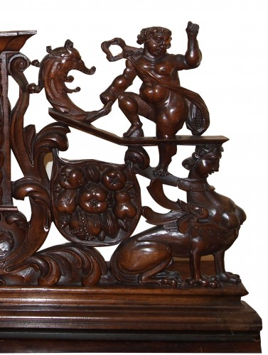 Furniture front early 17th century -