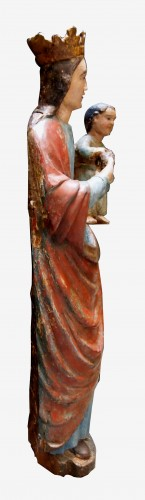 Virgin with pine cone, 16th century - Religious Antiques Style