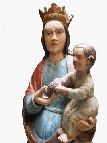 Virgin with pine cone, 16th century -