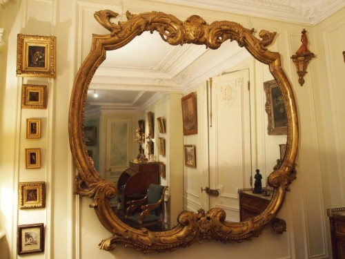 Pair of Mirrors, Late 18th Century - Mirrors, Trumeau Style