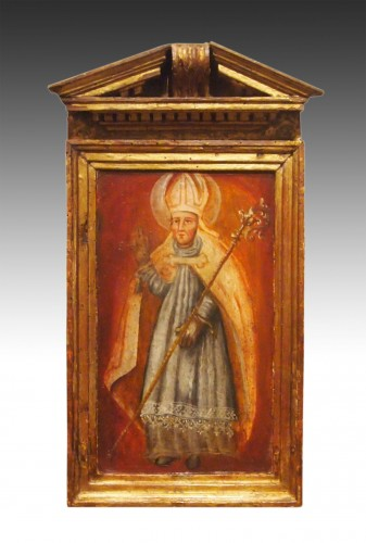 Religious Oil On Wood, Early 18th Century  -