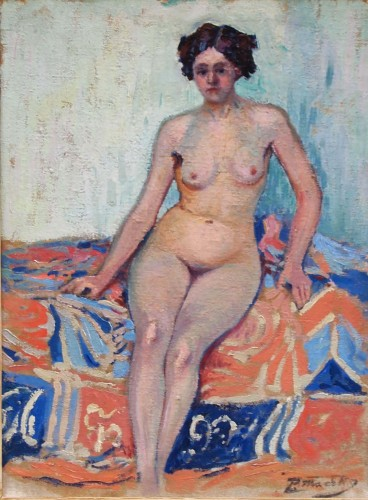 Naked in an interior - Paul MADELINE (1863-1920)