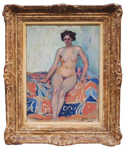 Naked in an interior - Paul MADELINE (1863-1920) - Paintings & Drawings Style