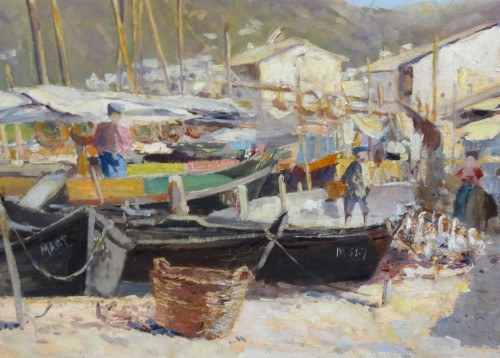Port of Martigues - Louis Abel TRUCHET (1857-1918) -