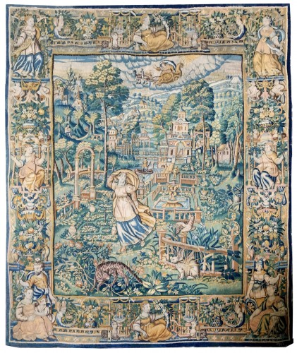 Tapestry of Oudenaarde, 16th century