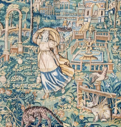 Tapestry of Oudenaarde, 16th century  - Tapestry & Carpet Style