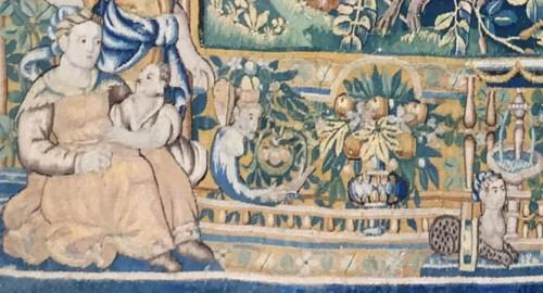 Tapestry of Oudenaarde, 16th century  -