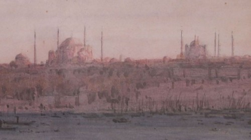 View of Istanbul 19th by Joseph FRICERO