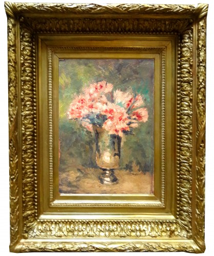 Bouquet of Flowers by Edgard MAXENCE - Paintings & Drawings Style