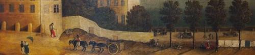 View of Paris, Directoire period -