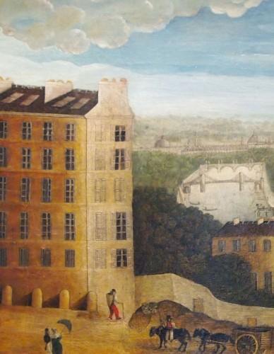 18th century - View of Paris, Directoire period