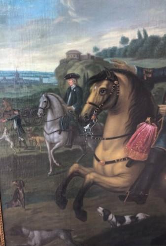 18th century - Man on the hunt, 18th century.