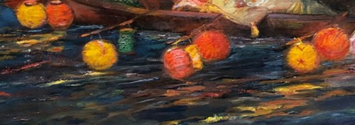 Paintings & Drawings  - Le bal des amoureux - Gaston HOFFMANN