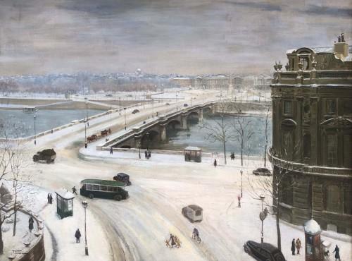 Paris, Saint-Germain et la Concorde - Franck ELIM (act.c.1928-1943)