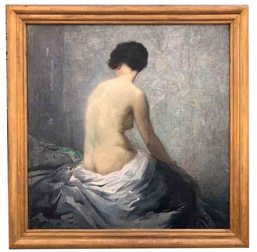 Nacked - Gaston Hoffmann (1883-1977) - Paintings & Drawings Style