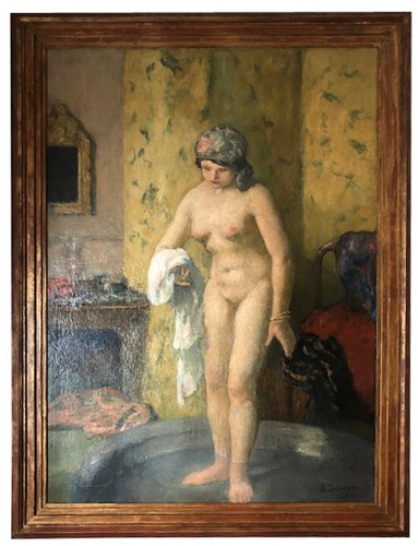 Nude - Angèle DELASALLE (1867-1938)