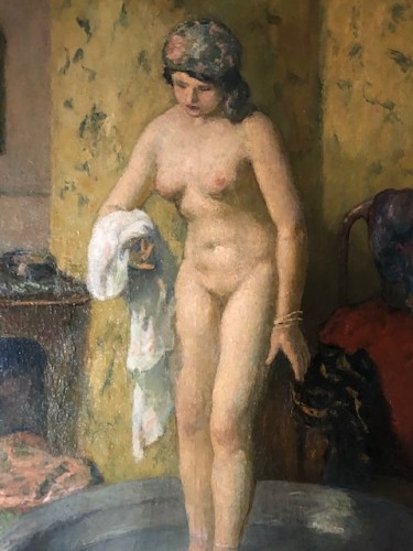 Nude - Angèle DELASALLE (1867-1938) - Paintings & Drawings Style