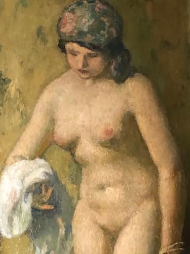 Paintings & Drawings  - Nude - Angèle DELASALLE (1867-1938)