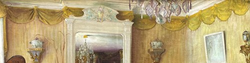 Interior of an apartment - Gaston HOFFMANN (1883-1977) -