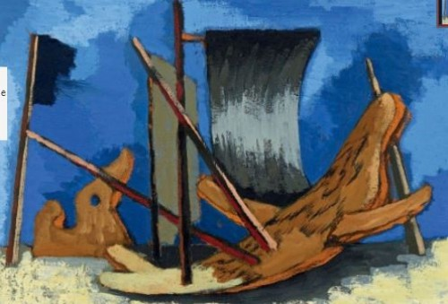 Boats, 193 - Jean Lurçat (1892-1966) - Paintings & Drawings Style