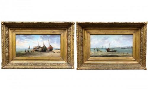 Seaside - Pierre-Julien GILBERT  (1783-1860)