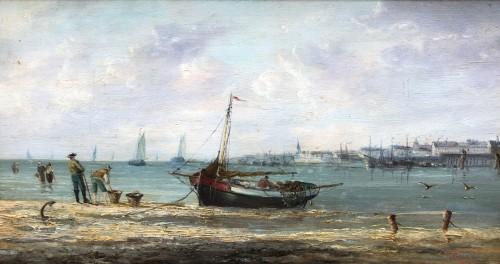 Seaside - Pierre-Julien GILBERT  (1783-1860) -