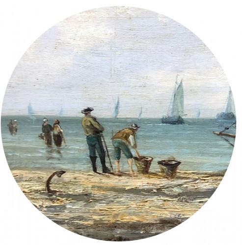 - Seaside - Pierre-Julien GILBERT  (1783-1860)