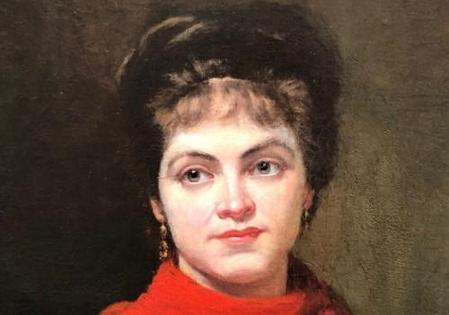 19th century - Vegetable woman seller
