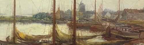Port -  KeesTERLOUW(1890-1948) - Paintings & Drawings Style