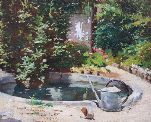Garden  - Luis GRACIA PUEYO (1871-1961)