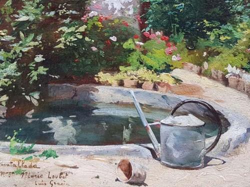 Paintings & Drawings  - Garden  - Luis GRACIA PUEYO (1871-1961)