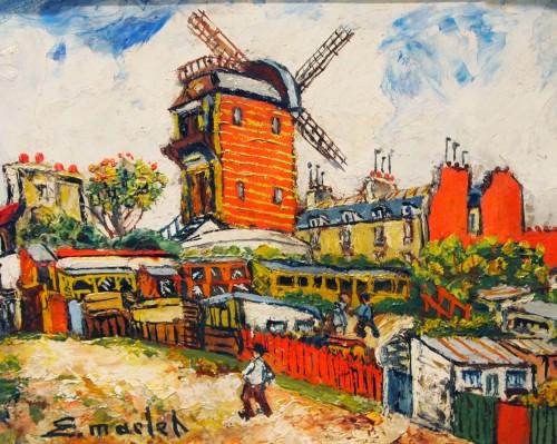 Montmarte - Elisé MACLET (1881-1962)