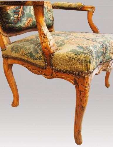 Pair of Regency armchairs -