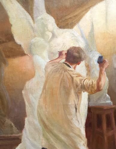 The workshop - Gaston HOFFMANN (1833-1977) -