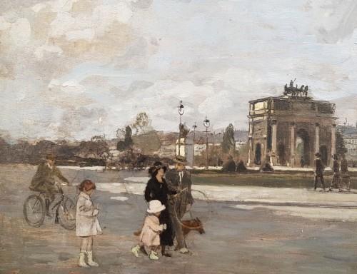 The Carrousel arch - Amédée MARCEL CLEMENT (1873- ?)